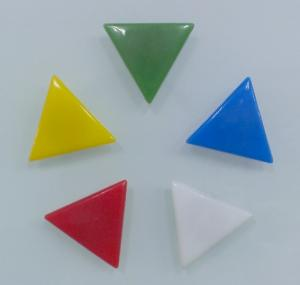 Triangular Glass Whiteboard Magnet Can Hold 6 Sheets Of Paper